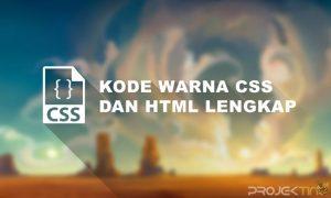 Kode Warna CSS