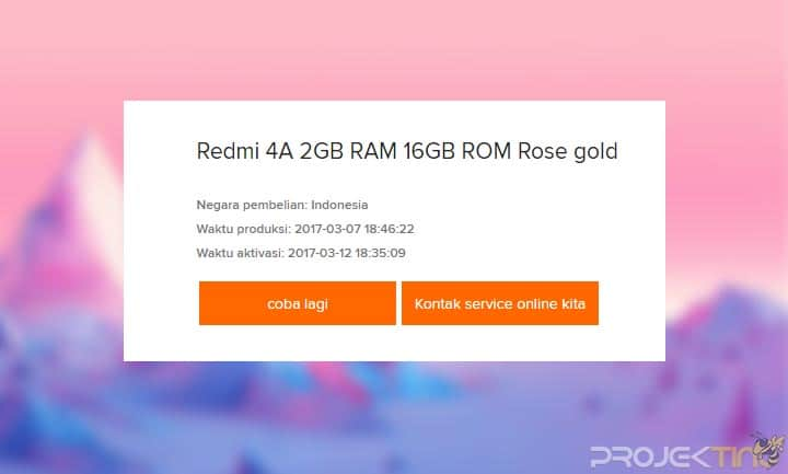 Cara Cek IMEI Hp Xiaomi