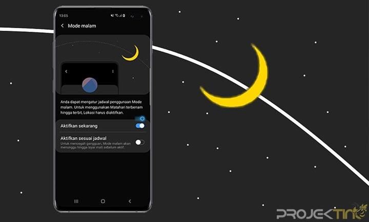 Dark Mode Samsung