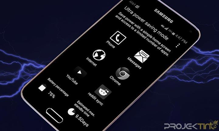 Samsung Ultra Power Saving Mode