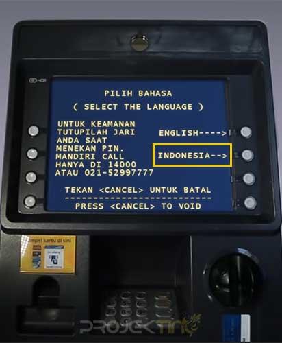 Cara Mendaftar SMS Banking Mandiri