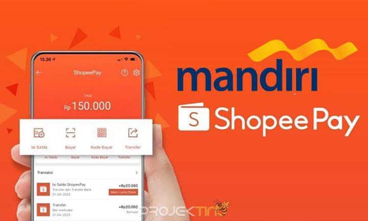 Cara Bayar Tagihan Shopee Lewat Mandiri Online