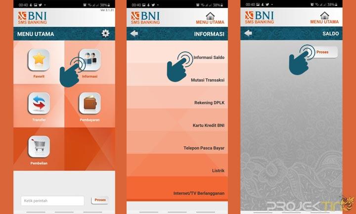 Cara Mengecek Saldo SMS Banking BNI