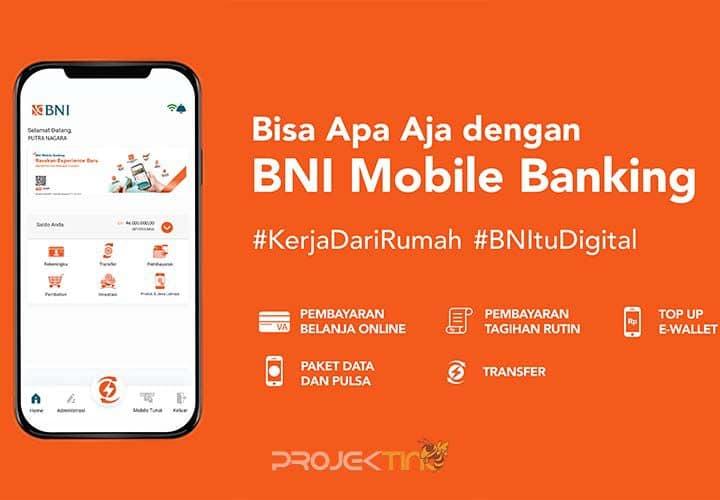 Cara Transfer Mobile Banking BNI Terbaru