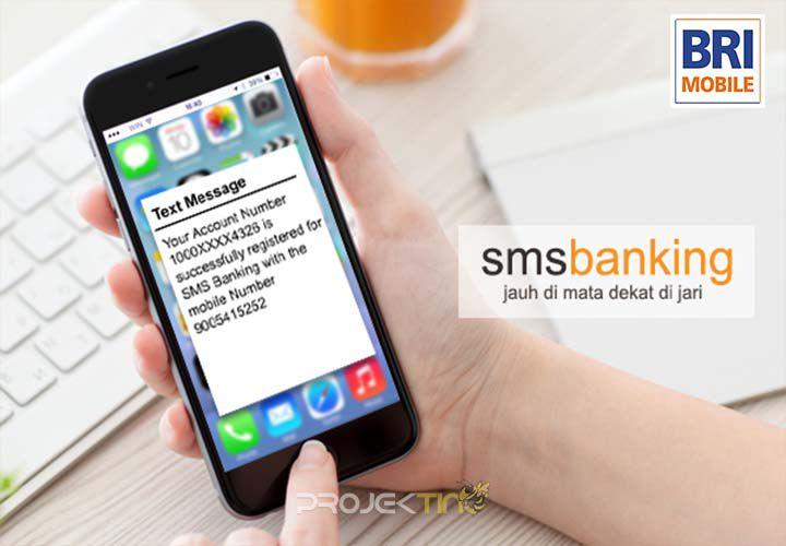 Cek Saldo BRI Via SMS Banking
