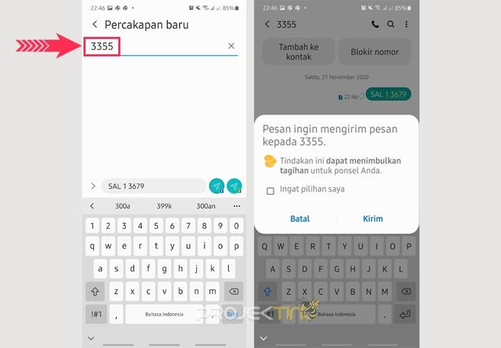 Cek Saldo Rekening Mandiri Lewat SMS