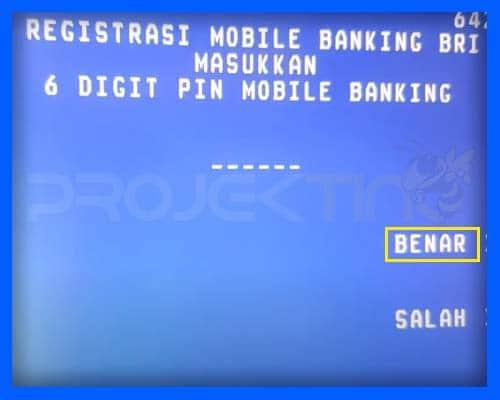 PIN SMS Banking BRI