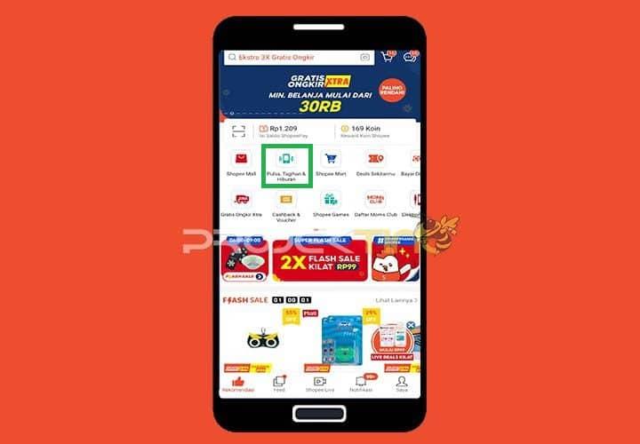 Buka Aplikasi Shopee Di Ponsel