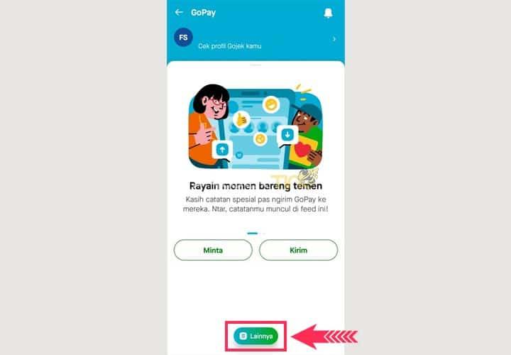 Cara Mengambil Uang Dari GoPay