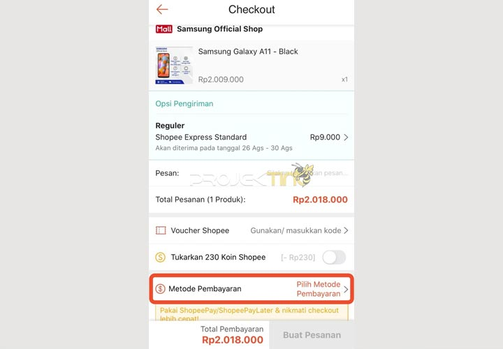 Cara Menggunakan Shopee PayLater Untuk Bayar