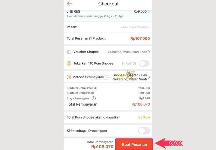 Cara Menggunakan Shopee PayLater Untuk Pembayaran