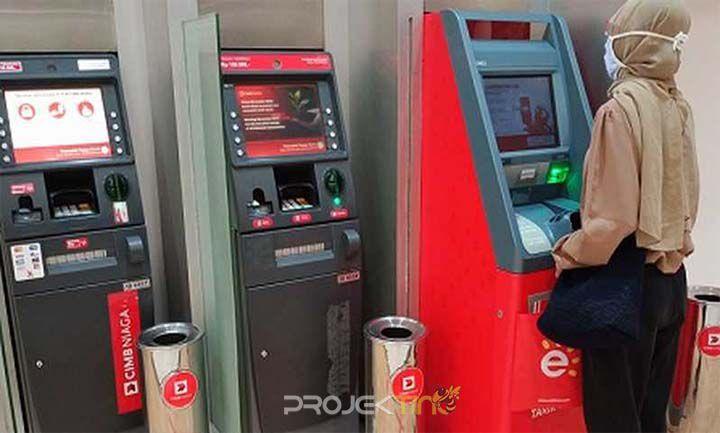 Cara Top Up OVO CIMB ATM