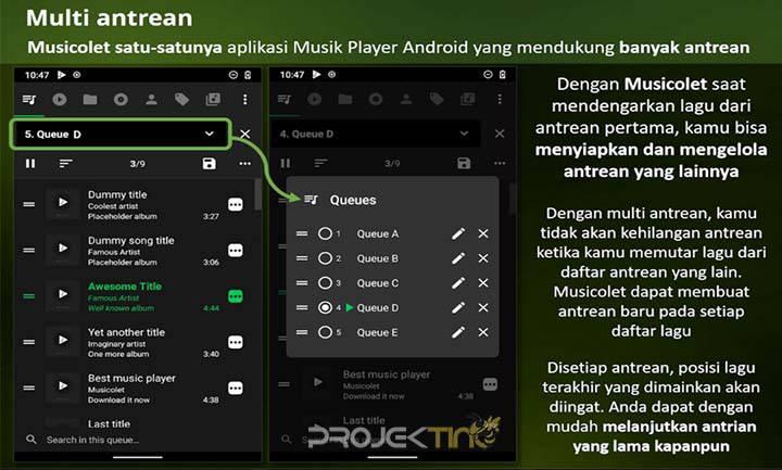 Lagu Di HP Android