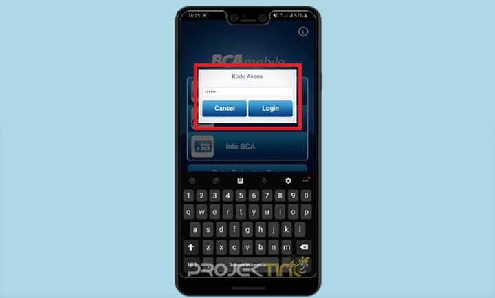 Masuk Aplikasi BCA Mobile