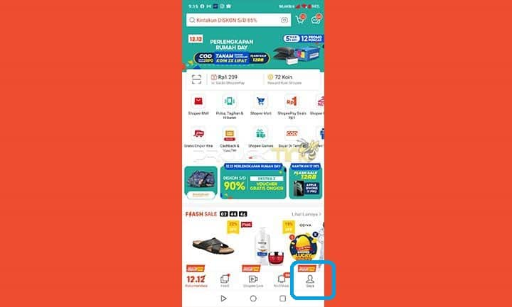 Masuk Aplikasi Shopee Paylater