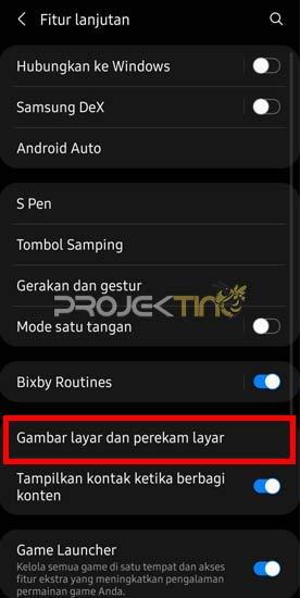 Cara Mengaktifkan Screenshot Panjang Hp Samsung