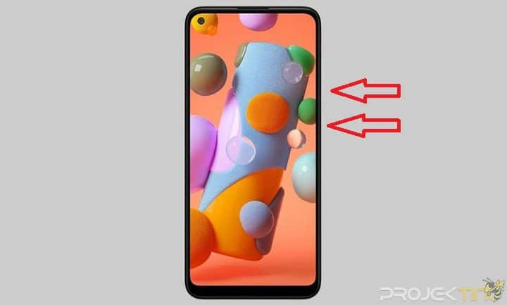 Cara Screenshot Samsung A11 Tombol Fisik