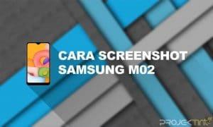 Cara Screenshot Samsung M02
