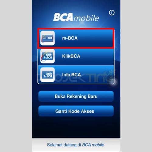 Cara Top Up OVO Lewat M-Banking BCA