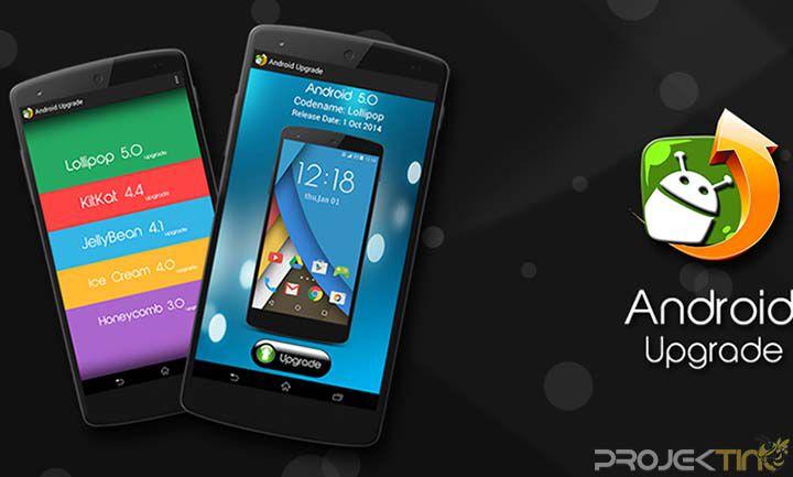 Cara Upgrade Android Terbaru