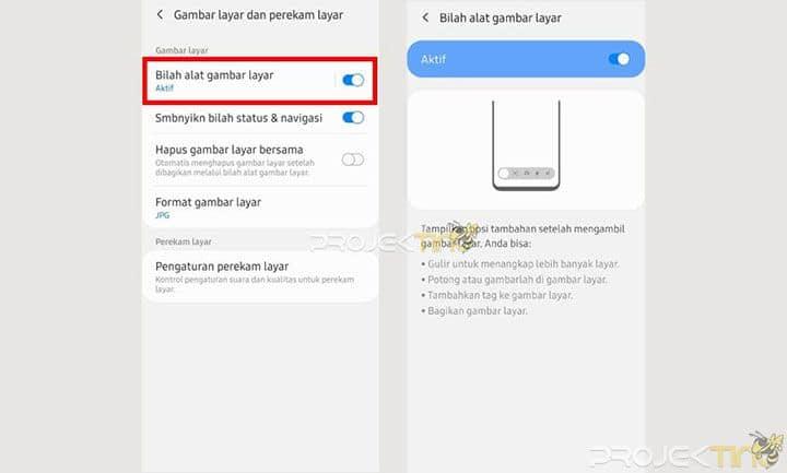 Screenshot Panjang Samsung