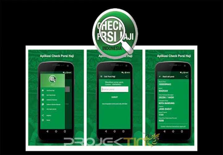 Aplikasi Cek Porsi Haji