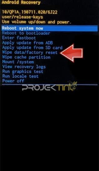 Cara Hard Reset Hp Samsung A01