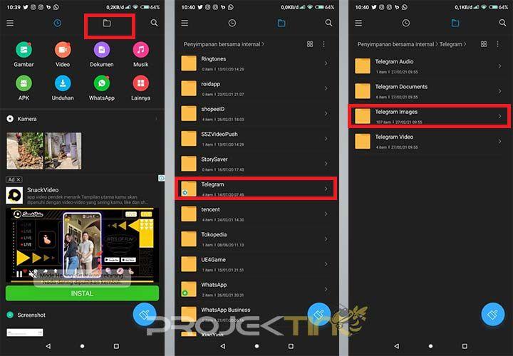 Cara Mengembalikan Chat Foto Atau Gambar Telegram