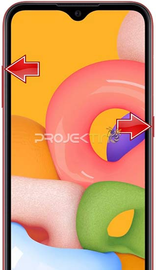 Cara Reset Samsung A01