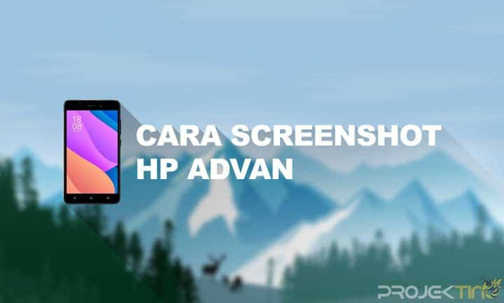 Cara Screenshot Advan Panjang