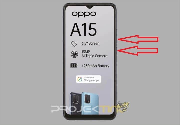 Cara Screenshot Oppo A15 sERIES
