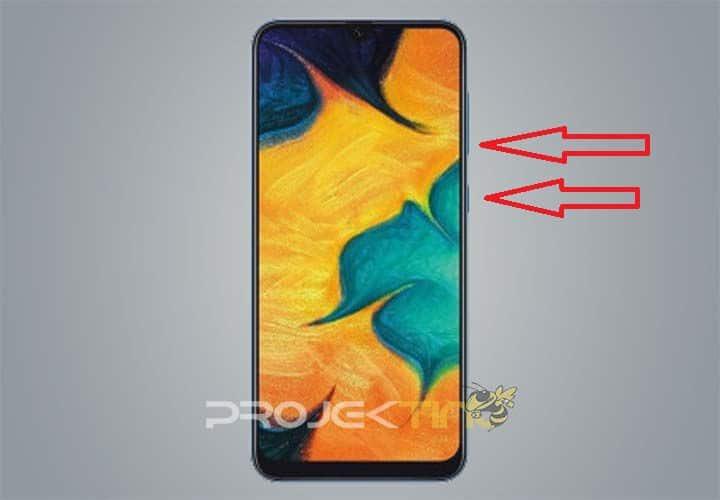 Cara Screenshot Samsung Galaxy A30