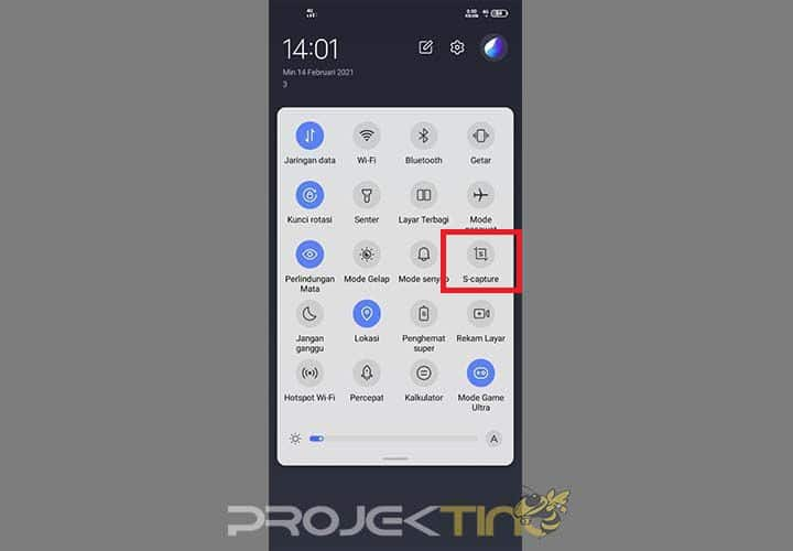 Cara Screenshot Tiga Jari Vivo Y30