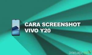 Cara Screenshot Vivo Y20