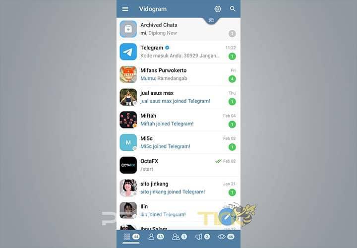 Download Aplikasi Vidogram