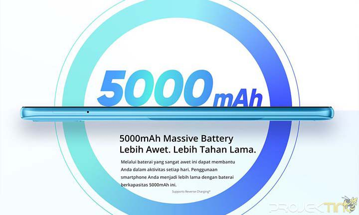 Baterai Realme C21