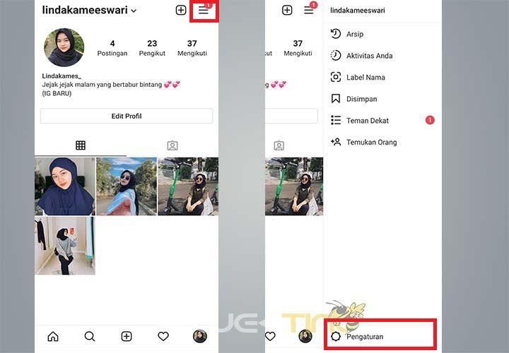 Cara Membuka Blokiran di Instagram