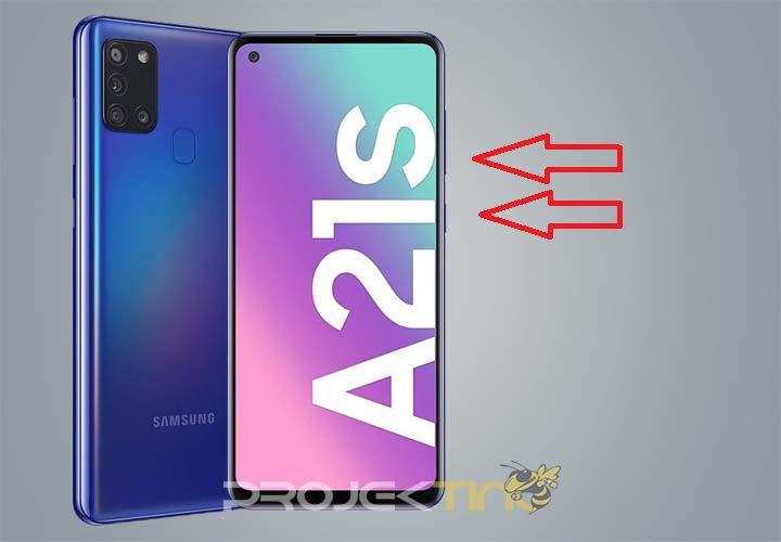 Cara Screenshot Samsung A21s Tanpa Tombol