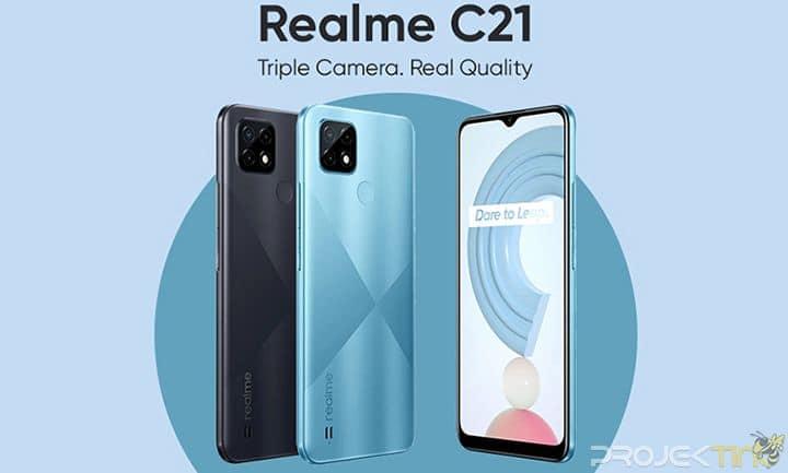 Fotografi Realme C21