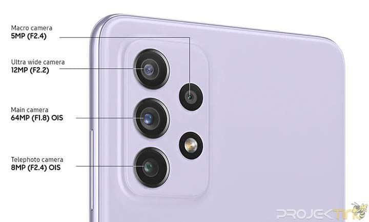 Fotografi Samsung A72