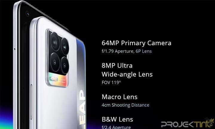 Kamera Realme 8