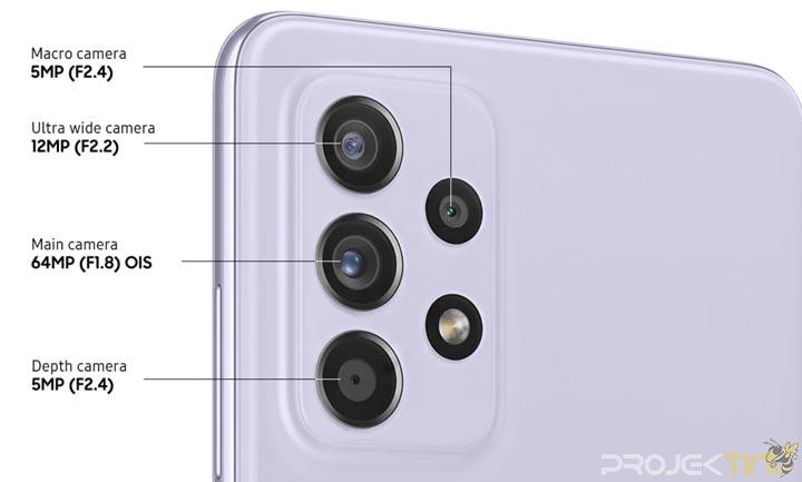 Kamera Samsung Galaxy A52
