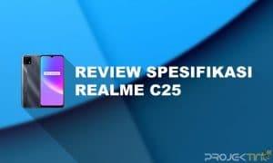 Review Spesifikasi Realme C25