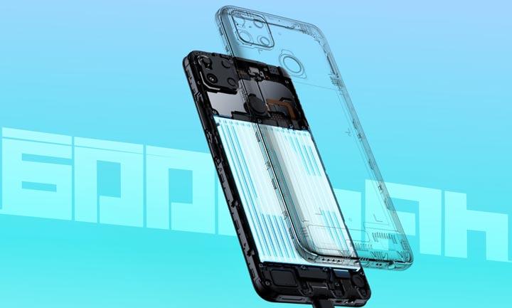 Spesifikasi Baterai Realme C25