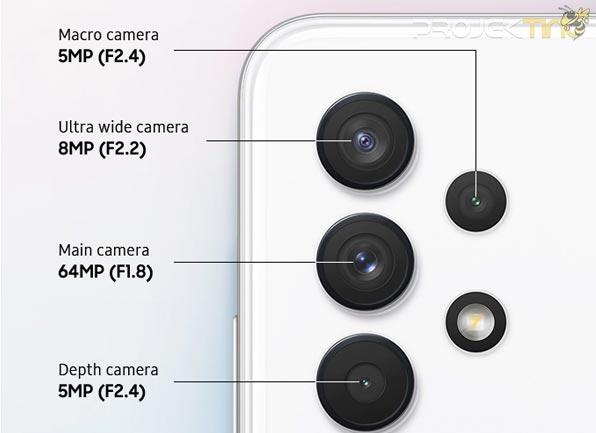 Spesifikasi Kamera Samsung Galaxy A32