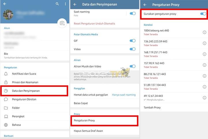 Cara Mengatasi Telegram Tidak BIsa Mengirim Pesan
