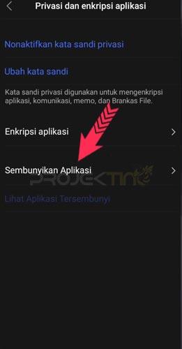 Cara Hidden Aplikasi di Hp Vivo