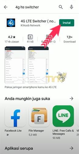 Cara Lock 4G Hp Oppo