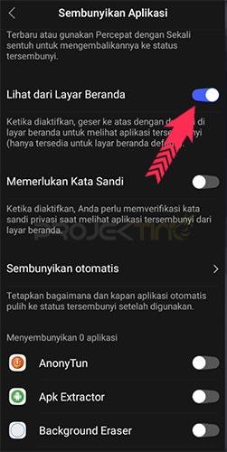 Cara Menampilkan Aplikasi Yang Tersembunyi di Hp Vivo
