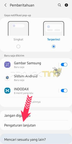 Cara Menampilkan Persentase Baterai Hp Samsung